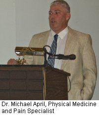 Dr. Michael April, Physical Medicine and Pain Specialist