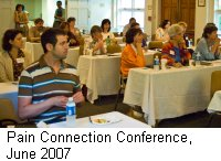 Pain Connection Conference, June 2007